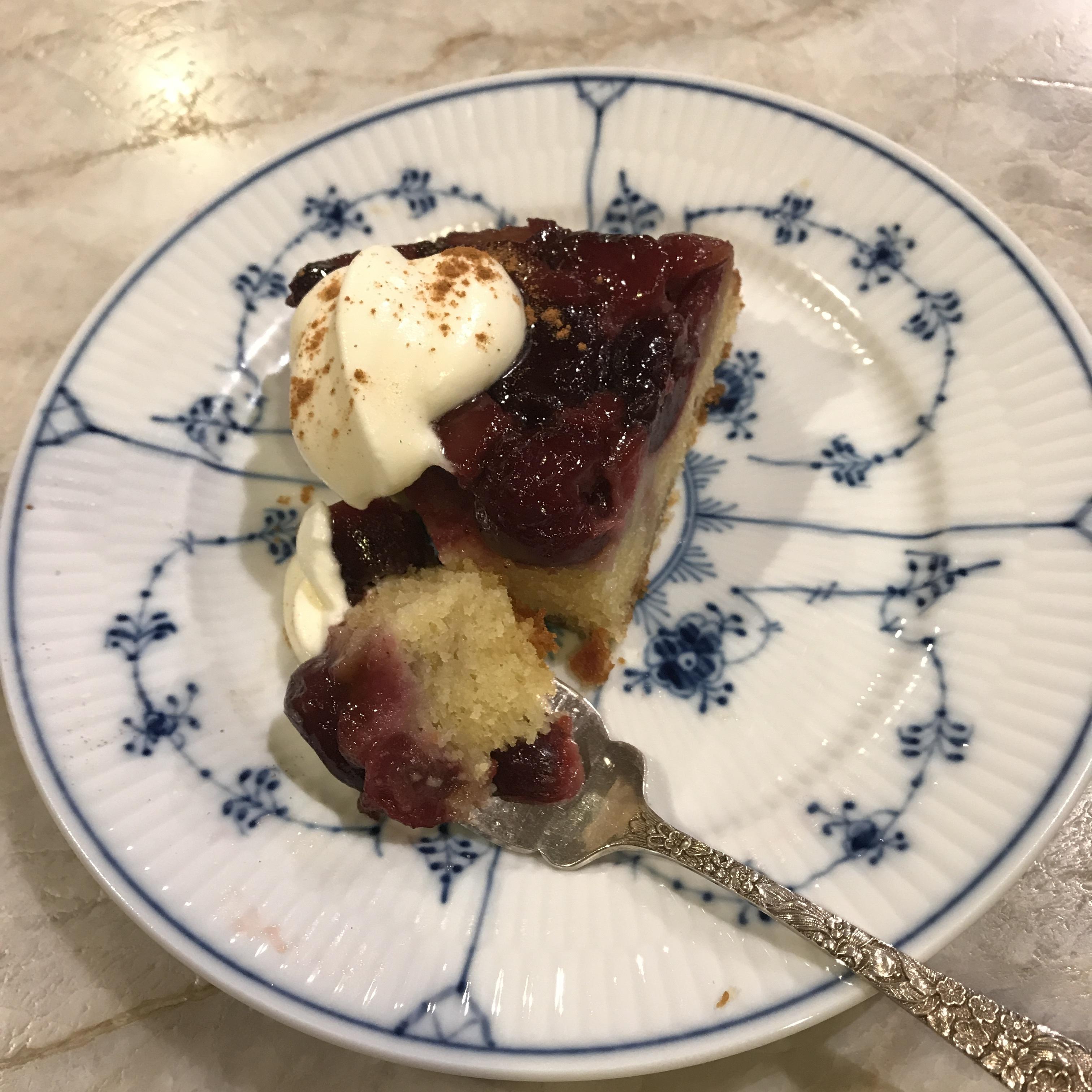 Upside-Down Cherry Jubliee Cake