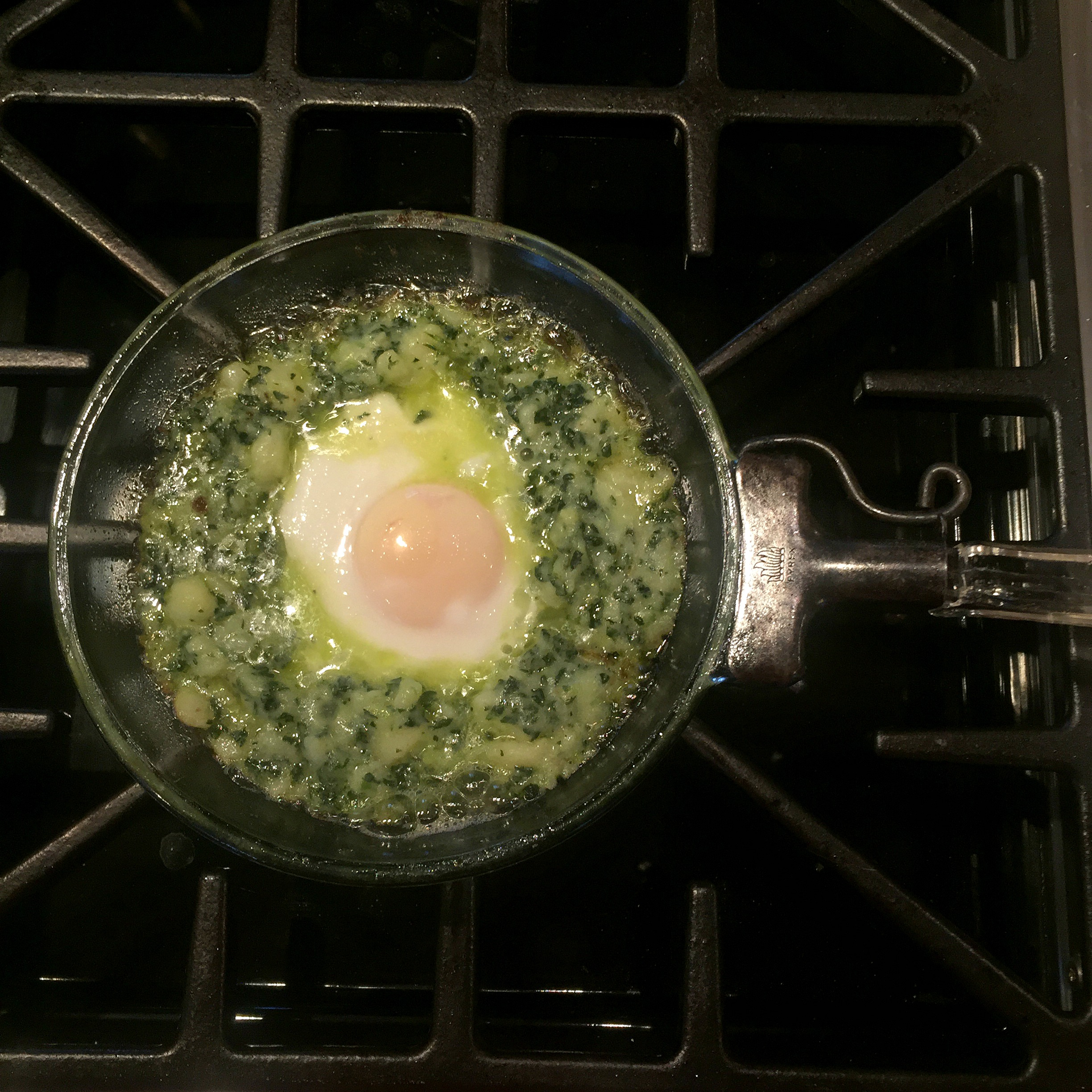 Colcannon with Potatoes, Kale and Spring Onions