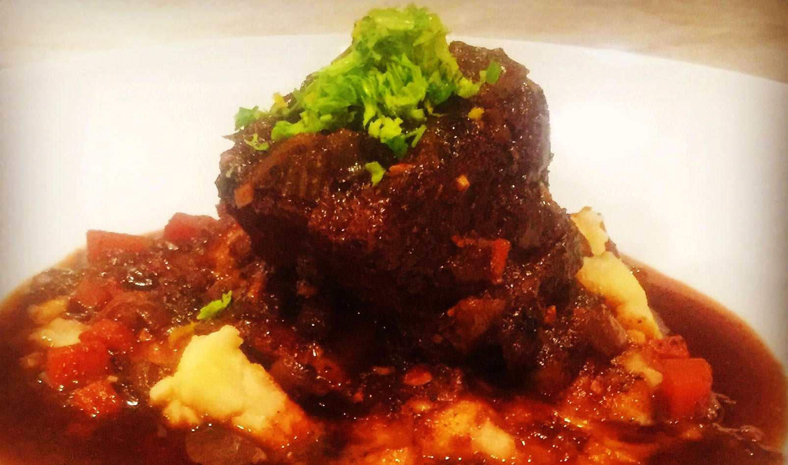 Beef Short Ribs Braised in Stout - Winter