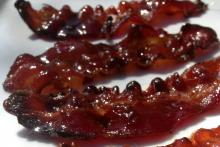 Candied Bourbon Bacon