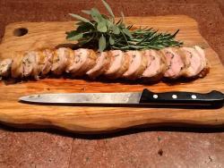 Pork Tenderloin in the Style of Porchetta