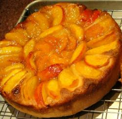 Baltimore Peach Cake