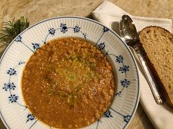 Farro Soup from Lucca